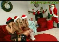 De kerstman heeft een geile verassing