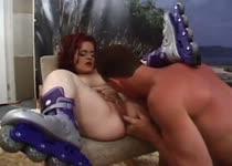Sex met het meisje met de rolschaatsen