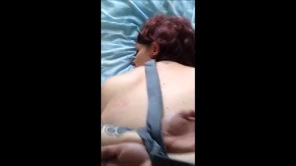 Amateur koppel neukt op een BDSM manier