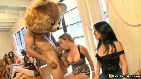 De beren zijn los en de geile dames wild