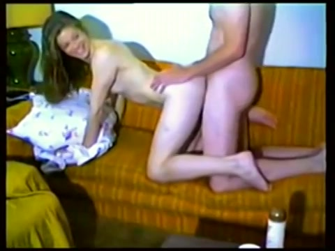 Retro VHS sex tape tiener sex