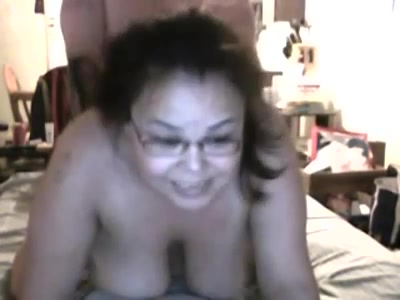 Lijvig amateur stel doet aan webcam sex