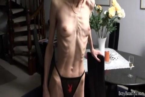 Webcam meisje met annorexia