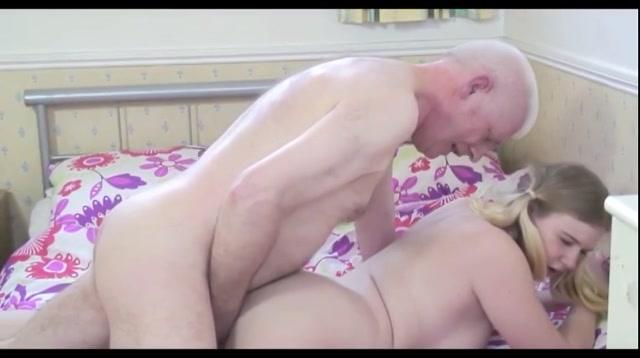 Viagra opa neukt blonde tiener