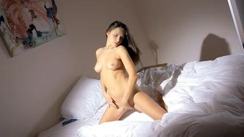Ondeugend meisje naakt